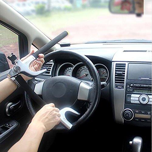 Steering Wheel Lock Diebstahl-Auto-Lenkrad-Schloss-Metalllegierungsstahl-Sicherheits-Auto-Verschlüsse