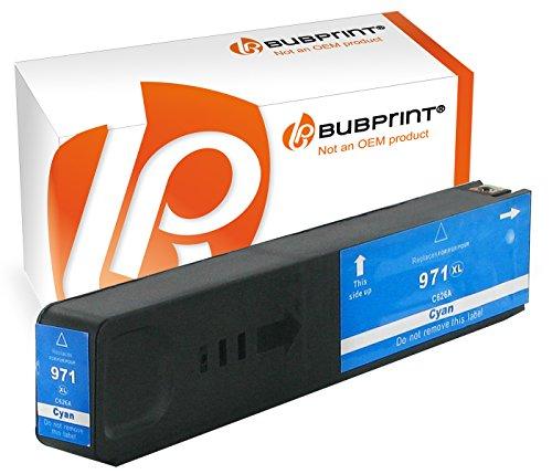 Preisvergleich Produktbild Bubprint Druckerpatrone kompatibel für HP 971XL 971 XL cyan OfficeJet Pro X576dw X576 X476dw mfp X451dw X551dw