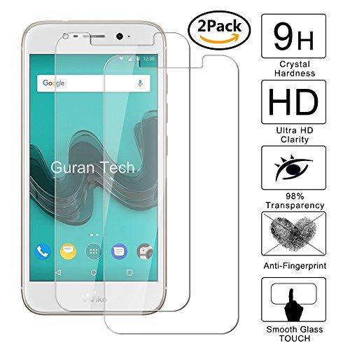 [2 pack] guran® pellicola protettiva ultra resistente in vetro temperato per wiko wim lite smartphone ultra sottile screen protector film