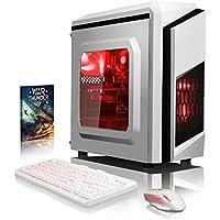VIBOX Pyro GL950T-253 Gaming PC Ordenador de sobremesa con Cupón de juego (4,2GHz AMD FX 8-Core Procesador, Nvidia GeForce GTX 1050 Ti Tarjeta Grafica, 16GB RAM, 2TB HDD, Ningún sistema operativo)