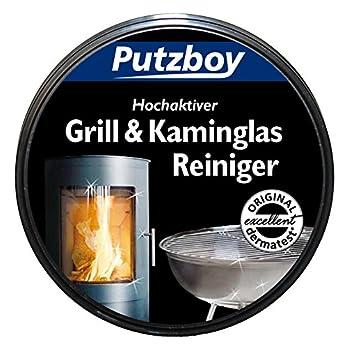 Poliboy Putzboy Grill Und Kaminglasreiniger Mit Schwamm 250 Ml Dose