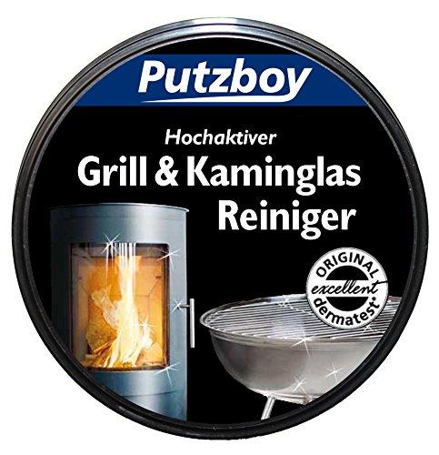 poli Boy Putz Boy Barbacoa y chimenea Cristal limpiador con esponja, 250ml...