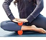 LaCrosse Bälle-Deep Tissue Massagegerät, Set 1orange & 1blau Sicher und effektiv zu lindern & Relax myofaszialer, Fuß, Brust & Rücken Muskeln-4FITPRO inklusive Tragetasche -