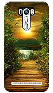 Lets Play Premium Printed Soft Silicon Case Mobile Cover for Asus Zenfone 2 Laser ZE600KL