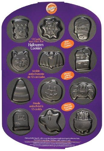Wilton Backform Halloween Cookies -