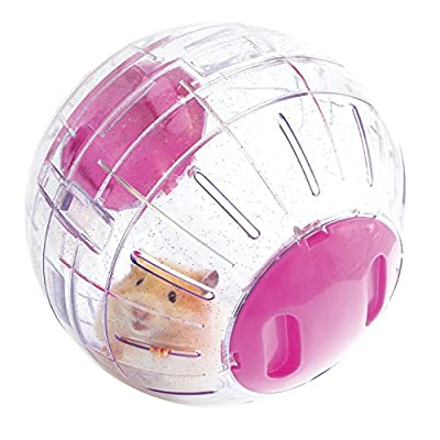 Rosewood Boredom Breaker Small Animal Activity Toy Glitter Hamster Ball from ROSHP