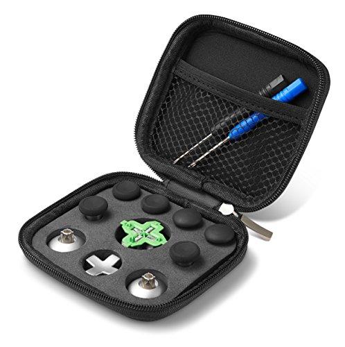 Süden Kurze Tasche (Supremery Xbox One Elite Controller Sticks Buttons Zubehör aus Aluminium - 11 Teiliges Set (Auch Passend für Normalen Xbox One Controller))