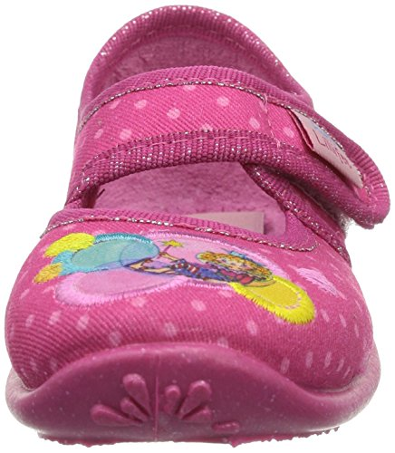 Prinzessin Lillifee  230205, Chaussons pour fille Rose - Pink (pinkbunt)