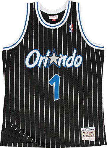Mitchell & Ness Replica Swingman NBA Jersey HWC 1 Anfernee Hardaway Orlando Magic Basketball Trikot (Basketball-ringer)