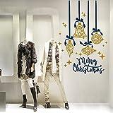 NT0294 Decoraciones de tiendas de Navidad, Pegatinas, Adhesivos - Adornos de celebraciones - 90x125 cm