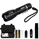 tattico torcia CREE LED 1000LUMEN super luminoso regolabile Focus XML T6 Torcia...