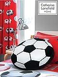 Catherine Lansfield Kids - Cuscino a forma di palla da calcio