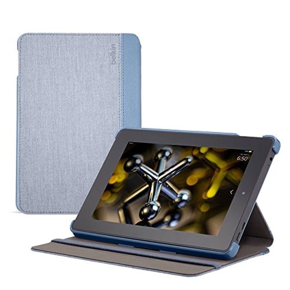 Belkin Shield Fit Chambray Hülle (geeignet für Fire HD 7 (4. Generation) Slate