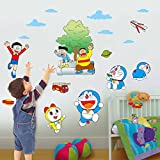#5: Wall Sticker (Doremon team,Wall Covering Area 67 cm x 60 cm)