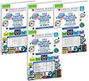 Oswaal CBSE SAMPLE QUESTION PAPERS CLASS 10 (Set of 4 Books) Mathematics (Standard), Science, Social Science,