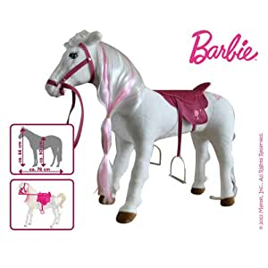 Mattel barbie majesty avec son cheval la crini re de - Jeux de barbie avec son cheval ...