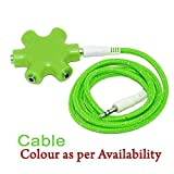 Green Multi Headphone Splitter 3.5mm Audio Jack Stereo - Best Reviews Guide