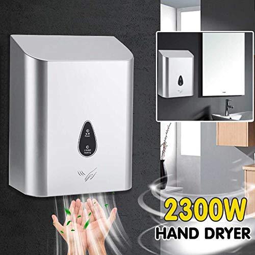 BTSSA Händetrockner,220V 2300W Induktion Steuerung ABS Material Geeignet für gewerbliche Badezimmerzubehörteile für Familien -