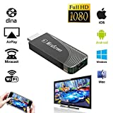 iBosi Cheng WiFi Display Dongle Drahtloser Display Empfänger HDMI Dongle für iOS Android Smartphones Tablets Windows Mac OS Laptops zum HDTV Projektor Monitor (Black)