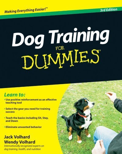 Dog Training For Dummies by Volhard, Jack, Volhard, Wendy (2010) Paperback