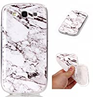 Samsung Galaxy S3 i9300 Case, BONROY® Samsung Galaxy S3 i9300 Marble pattern series Case Bumper Transparent Soft Gel Shockproof Case Resist Protection Shell for Samsung Galaxy S3 i9300