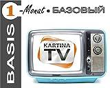 Kartina.TV 1 Monat Abo BASIS ohne Vertragsbindung Ruskoe TV Archiv Videothek