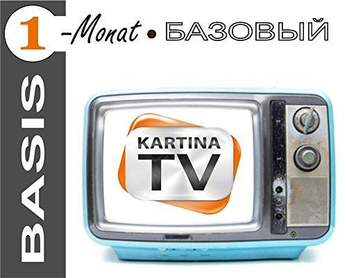 Preisvergleich Produktbild Kartina.TV 1 Monat Abo BASIS ohne Vertragsbindung Ruskoe TV Archiv Videothek