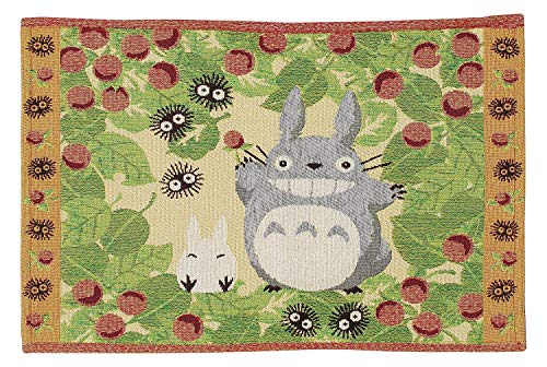 Marushin Studio Ghibli My Neighbor Totoro gewebte Tischmatte 33 x 48 cm Wald und Erdbeere 0524102300 (Tischsets Zum Verkauf)