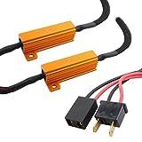 TOMALL H7 LED-Widerstände Decoder für LED-Scheinwerfer Lampen Umbausatz