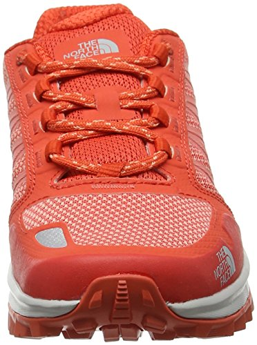The North Face Litewave Fastpack, Bottes De Randonnée Pour Femmes Rouge (fire Brick Red / Desert Flower Orange)
