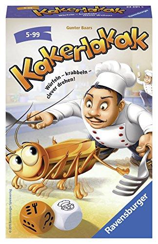 Ravensburger 23391 - Kakerlakak - Kinderspiel/ Reisespiel
