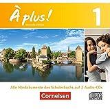 À plus ! - Nouvelle édition: Band 1 - Audio-CDs: Inhaltlich identisch mit 023339-7
