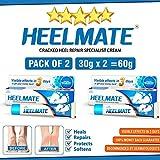 Heelmate Cracked Heel Repair Specialist Cream Smooth Feet, Freedom from Dry Cracked Heels