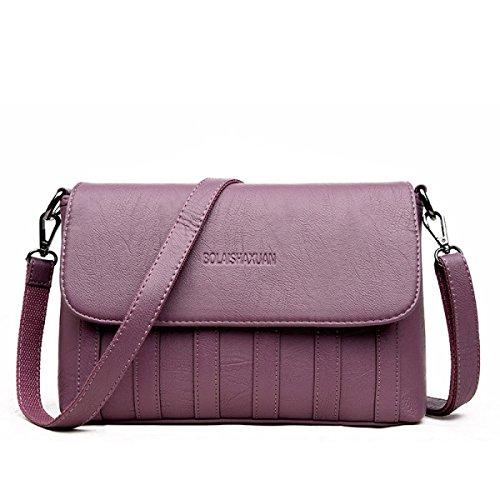 Dame Simple Fashion Handtasche Wild Schultertasche Messenger Bag E