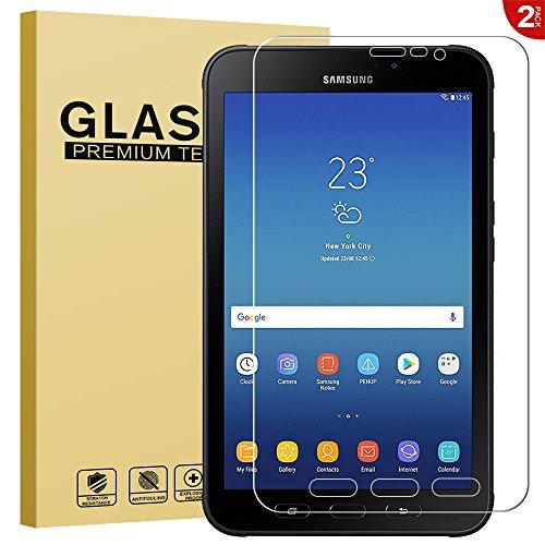 RIFFUE Schutzfolie Panzerglas Galaxy Tab Active 2 8