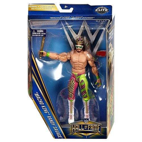 WWE Wrestling Elite Collection Hall of Fame Macho King Randy Savage 6 Action Figure by WWE