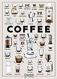 GUGGENHEIMER COFFEE Kaffee Poster - Kaffee Rezepte - Bild Kunstdruck 50 x 70 cm - Café Bar Pub Küche Einrichtung