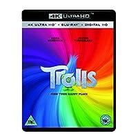 Trolls (4K UHD Blu-ray + Blu-ray) [2016]