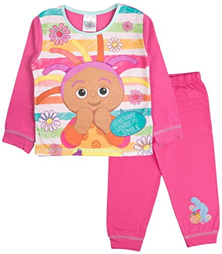 In the Night Garden Jungen Schlafanzug blau blau Medium Gr. 3-4 Jahre, Upsy Daisy Loves to Smile (Disney Princess Christmas Pyjamas)