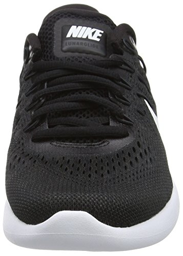 Nike Lunarglide 8, Chaussures de Running Entrainement Homme Multicolore (Black/white-anthracite)