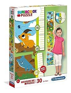Clementoni- Puzzle Metro Animales 30 pzas, Multicolor (20329)