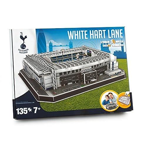 Paul Lamond Tottenham Hotspur 3D Stadium Hart Lane Puzzle (White)