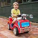 Unbekannt Toyrific elektrisches Kinder-Feuerwehrauto mit Seifenblasenpistole, Lichtern und Sirenen Test