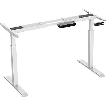 maclean mc 794 2 fach tischgestell elektrisch h henverstellbarer arbeitstisch schreibtisch ohne. Black Bedroom Furniture Sets. Home Design Ideas