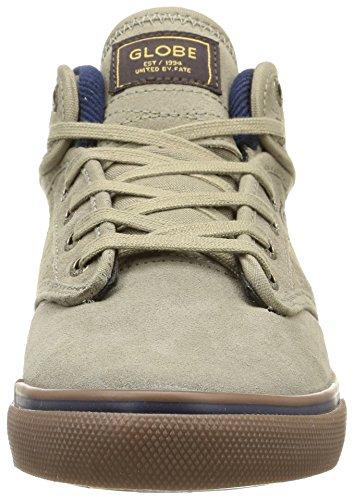 Globe Motley Mid, Chaussures de Skateboard homme Beige (Beige (16230 sand/navy))