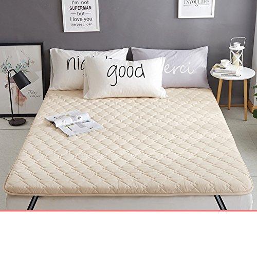 HYXL Anti-Mite Verdicken Sie Anti-Schleudern Tatami-Pad Bett matratzenbezug,Anti-bakterielle und Anti-Rutsch Matratzenauflage & Pad matratzenschoner-E 200x220cm(79x87inch)