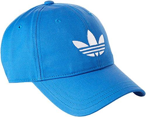 adidas-Erwachsene-Kappe-Trefoil-Cap-BlauWei-One-size