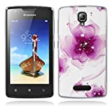 Lenovo A1000 Hülle, Lenovo A1000 Silicone Hülle, Gift_Source [ Traumblume ] Hülle Case Transparent Weiche Silikon Schutzhülle Handyhülle Schutzhülle Durchsichtig TPU Crystal Clear Case Backcover Bumper Case für Lenovo A1000 (for phone not for tablet)