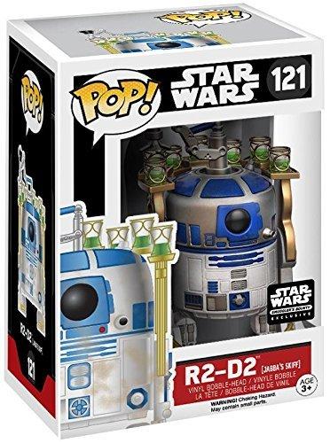 Funko Pop R2-D2 en el bote de Jabba (Star Wars 121) Funko Pop Star Wars
