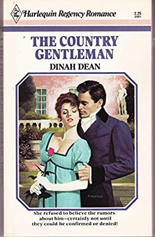 The Country Gentleman (Regency Category Romances) by Dinah Dean (1986-03-01)